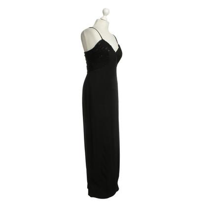 La Perla Langes Kleid in Schwarz