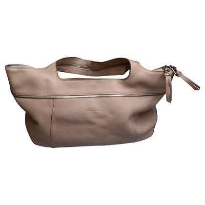 Longchamp Handtas in beige