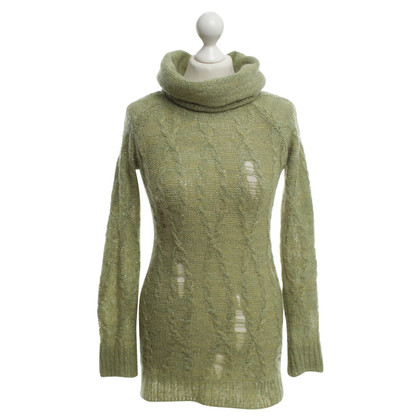Rich & Royal Roll collar sweater in green