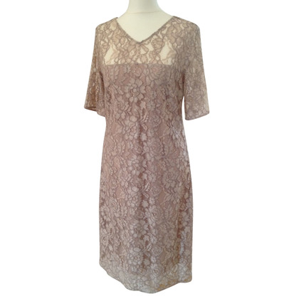 René Lezard Shift dress in lace