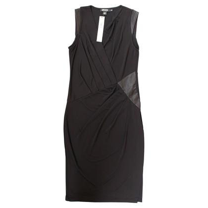 DKNY Black Knee Length Dress