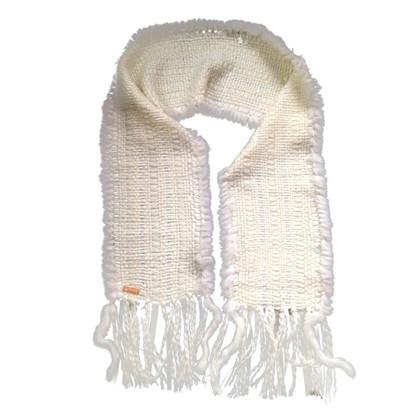 John Galliano Da sciarpa di pelliccia di lana/coniglio