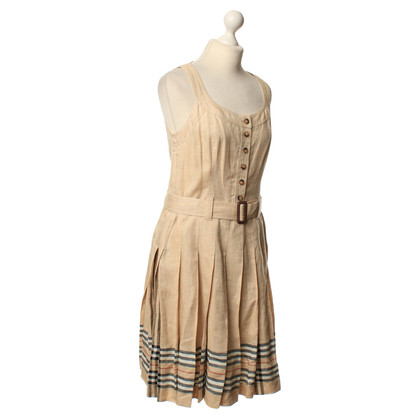 Burberry Dress with pleated skirt in beige