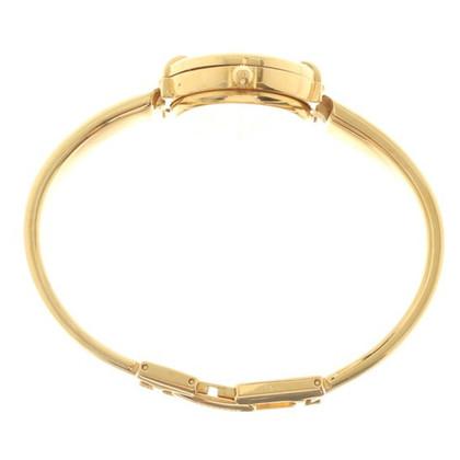 Gucci montre-bracelet de couleur or