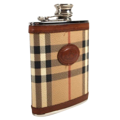 Burberry Flask with check pattern