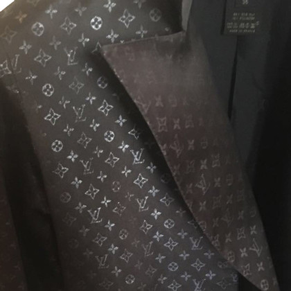 Louis Vuitton Mantel mit Monogram-Einwebung