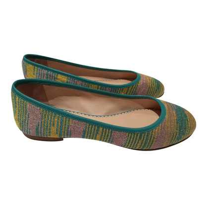 Missoni Ballerinas with classic pattern