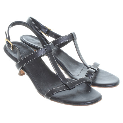 Loro Piana Sandals in black
