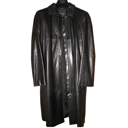 Max Mara S Max Mara leather coat