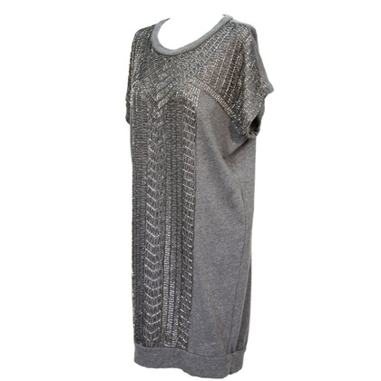 Day Birger & Mikkelsen Gray Dress Cotton