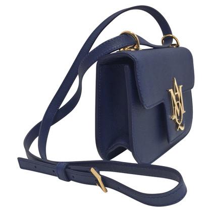 Alexander McQueen Insignia blu bag