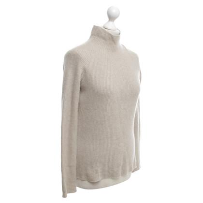 Max & Co Pullover in Beige/Grau