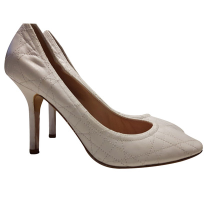 Christian Dior pumps in bianco