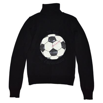 Moschino Zwart wollen trui