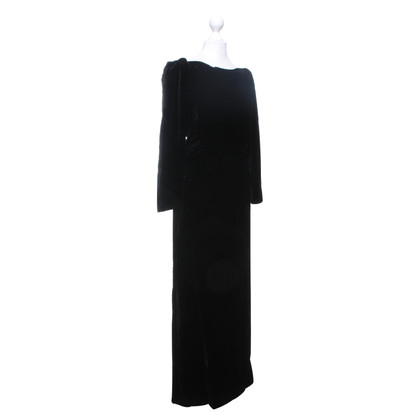 Yves Saint Laurent Velvet evening dress