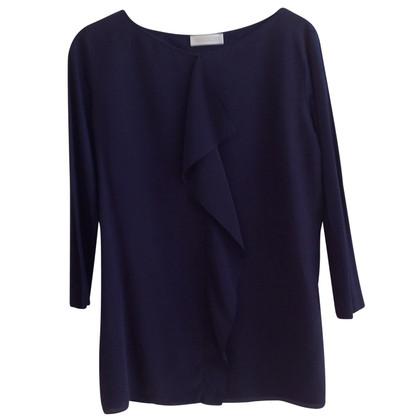 St. Emile Silk shirt with flounce