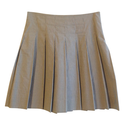 Thomas Burberry Pleated skirt with stripes