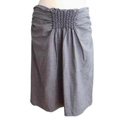 René Lezard skirt in light gray