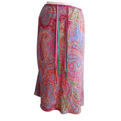 Etro skirt in summer colors
