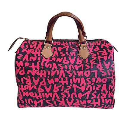 "Louis Vuitton ""Speedy 30 Graffiti van het Monogram"""