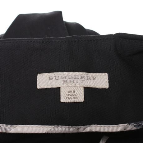 Rabatt Footlocker Original-Verkauf Online Burberry Faltenrock in Mini-Länge Schwarz Exklusive Online IlO5P
