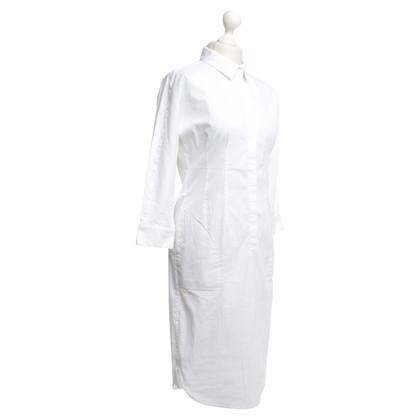 Hugo Boss Blouse jurk in het wit