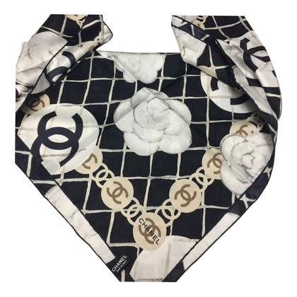 Chanel Schwarzer Schal