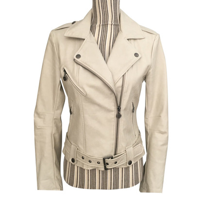 Twin-Set Simona Barbieri Biker jacket leatherette