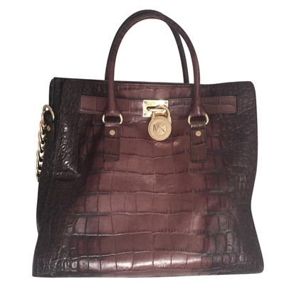 Michael Kors Handbag with reptile embossing