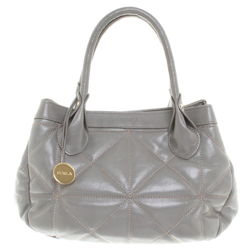 furla handtasche in grau second hand furla handtasche in grau gebraucht kaufen f r 150 00. Black Bedroom Furniture Sets. Home Design Ideas