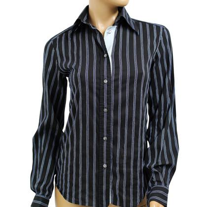 Dolce & Gabbana Zwart gestreept overhemd