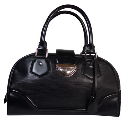 "Louis Vuitton ""Bowling Montaigne GM Epi Leather"" in Black"