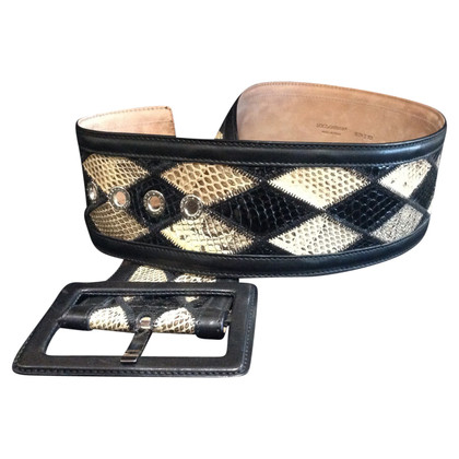Dolce & Gabbana Belt reptile leather