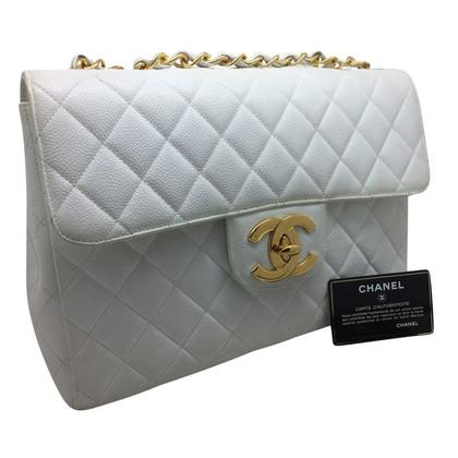 "Chanel ""Jumbo Flap Bag"" aus Kaviarleder"