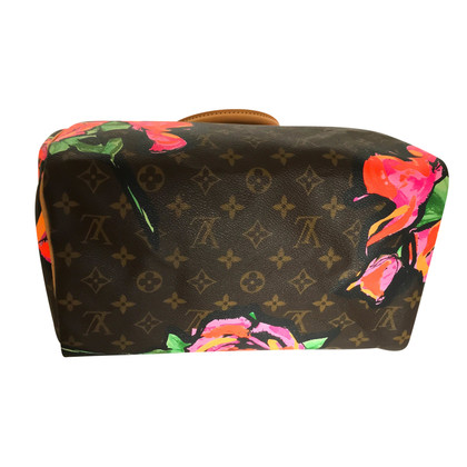 "Louis Vuitton ""Speedy 30 Monogram Roses"" by Stephen Sprouse"