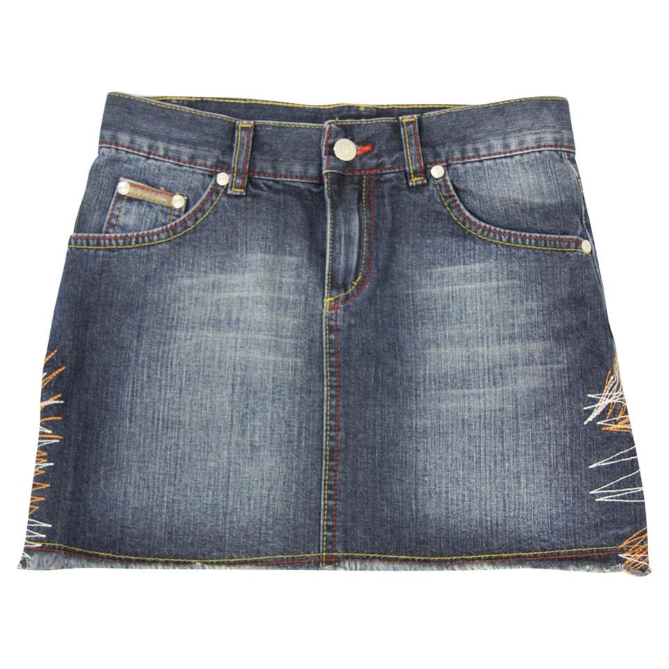 fba40bddeb07 Dolce   Gabbana Jupe Jean en bleu - Acheter Dolce   Gabbana Jupe Jean en  bleu
