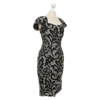 Karen Millen Vestito in grigio / nero