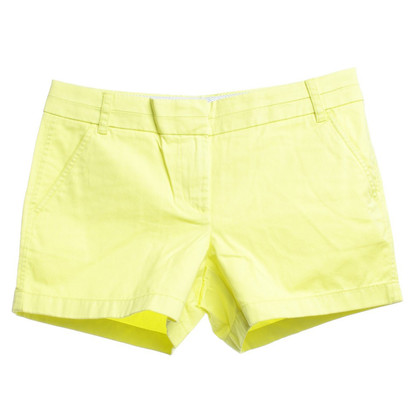 J. Crew Chino shorts in yellow