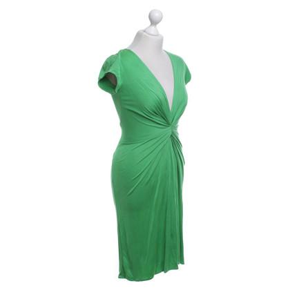Issa Robe en soie en vert