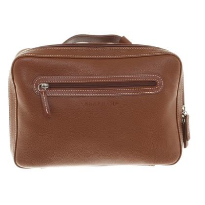 Longchamp Cosmetic bag in brown