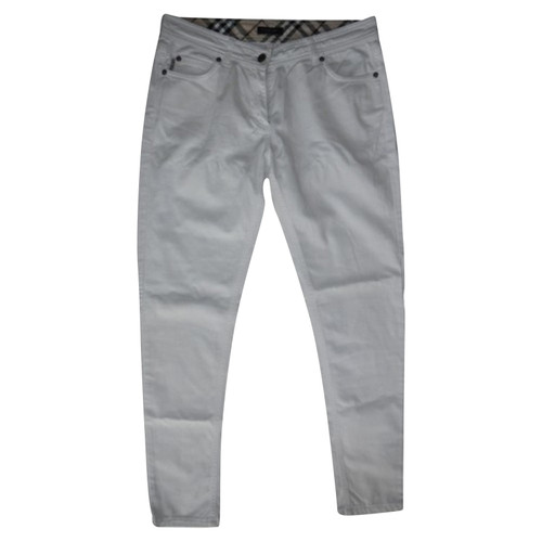 nuovo di zecca fd051 efa68 Burberry Jeans Cotton in White - Second Hand Burberry Jeans ...