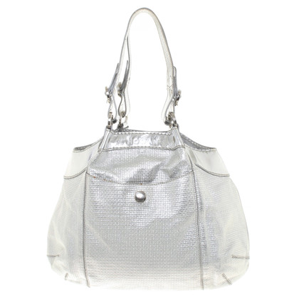 Hogan Silver colored handbag