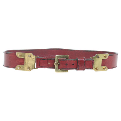 Aigner Vintage leather belt