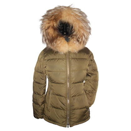 Prada Down jacket with fur hood