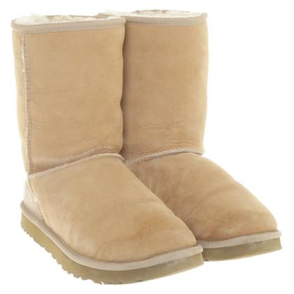 UGG Australia Suede boots in beige