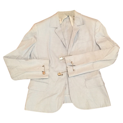 Moschino Cheap and Chic Jacke mit Sicherheitsnadel-Deko