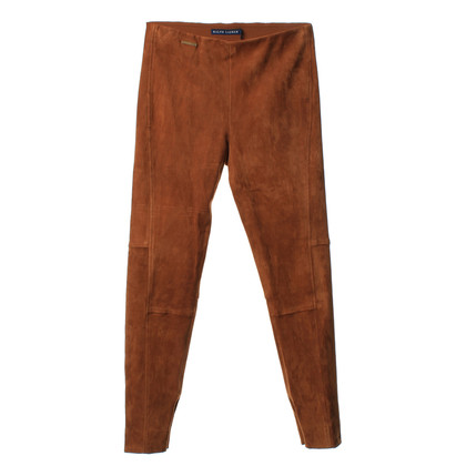 Ralph Lauren Suede pants in Brown