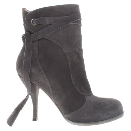 Pura Lopez Ankle boots in dark gray