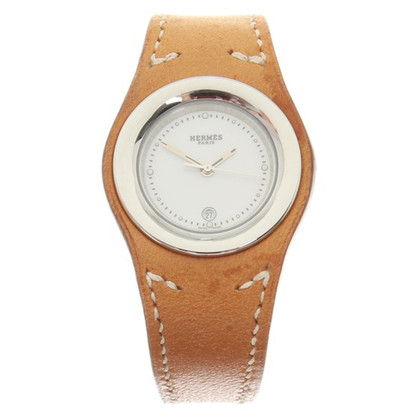 Hermès Wristwatch Leather