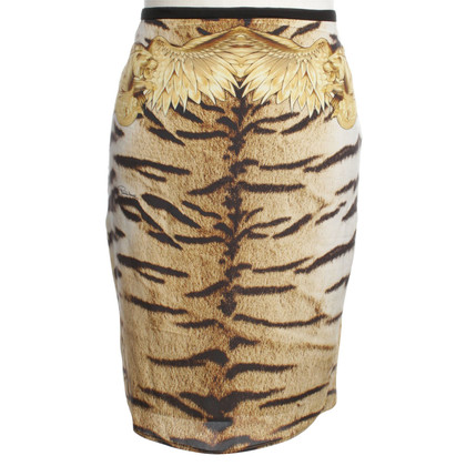 Roberto Cavalli skirt with animal design